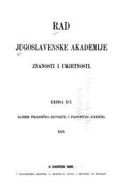 Rad Jugoslavenske akademije znanosti i umjetnosti: Volumes 91-93