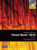 Starting Out with Visual Basic 2010 PDF