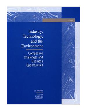 Industry, technology, and the environment competitive challenges and business opportunities : report.