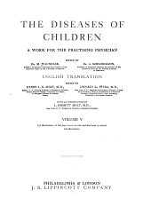 The Diseases of children: Volume 5