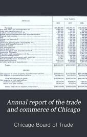 Annual Report of the Trade and Commerce of Chicago: Volume 21