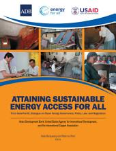Attaining Sustainable Energy Access for All PDF