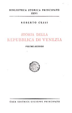 Storia della repubblica di Venezia PDF