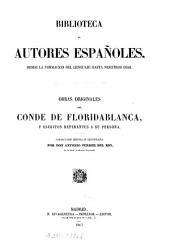 Obras originales del conde de Floridablanca: y escritos referentes a su persona
