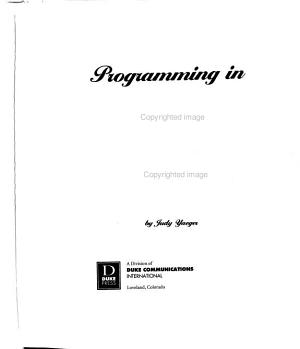 Programming in RPG IV PDF