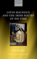 Louis MacNeice and the Irish Poetry of his Time PDF