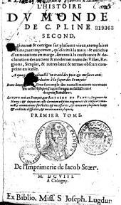 Histoire du monde... mis en français par Antoine Dupinet...