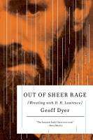 Out of Sheer Rage PDF