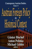 Austrian Foreign Policy in Historical Context PDF