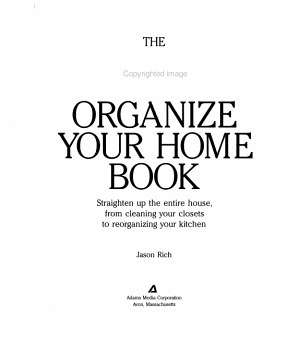 Everything Organize Your Home
