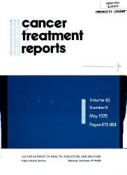Cancer Treatment Reports PDF
