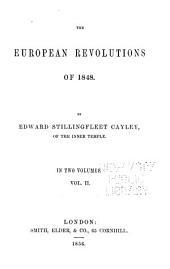 The European Revolutions of 1848: Volume 2