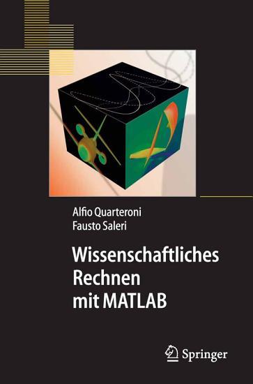 Wissenschaftliches Rechnen mit MATLAB PDF