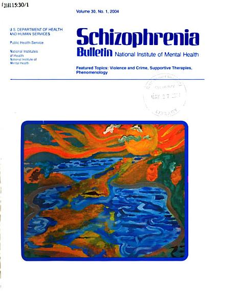 Schizophrenia Bulletin PDF