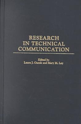 Research in Technical Communication PDF