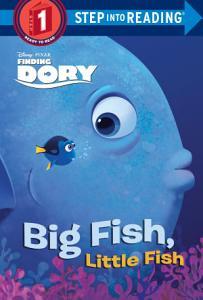 Big Fish  Little Fish  Disney Pixar Finding Dory  Book