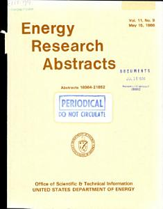 Energy Research Abstracts PDF