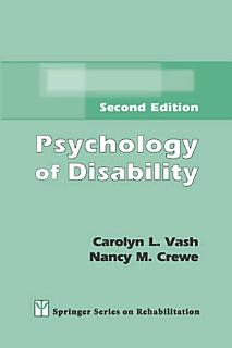 Psychology of Disability Book