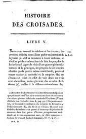 Histoire des Croisades: Volume2