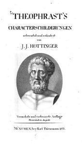 Theophrast's Characterschilderungen