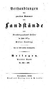 Verhandlungen der Zweiten Kammer der Landstände des Großherzogthums Hessen: 1847/48,4,[c]