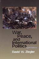 War Peace And International Politics Book PDF