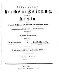 Allgemeine Kirchenzeitung PDF
