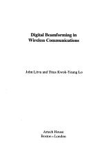 Digital Beamforming in Wireless Communications PDF