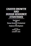 Career Growth and Human Resource Strategies