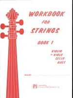 Workbook for Strings, Bk 1: Viola