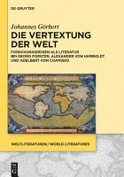 Die Vertextung der Welt PDF