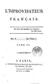 L'improvisateur français: Volume6