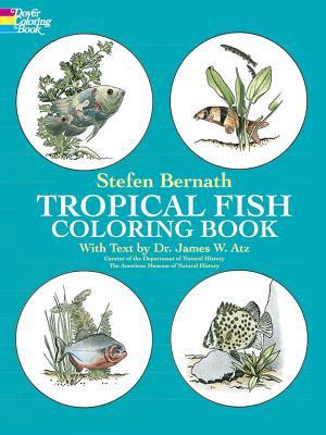 Tropical Fish Coloring Book