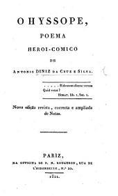 O Hyssope ... Nova edição correcta, com variantes, prefacio e notas