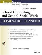 School Counseling and School Social Work Homework Planner