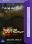 Student Access Kit for MasteringAstronomy for the Essential Cosmic Perspective