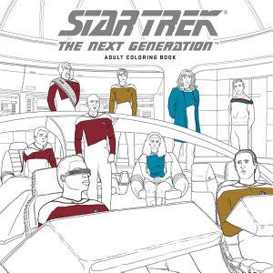 Star Trek the Next Generation Adult Coloring Book