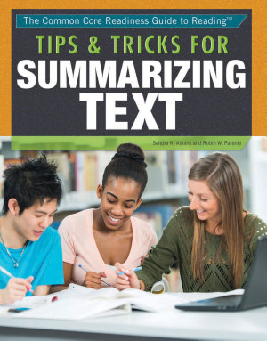 Tips and Tricks for Summarizing Text PDF