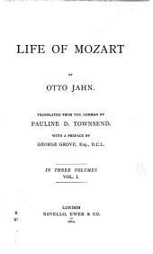 Life of Mozart: Volume 1