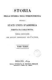 Storia della guerra dell'independenza degli Stati Uniti d'America, 2: Volume 1