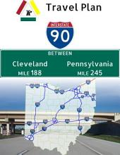 Interstate 90: Cleveland to Pennsylvania