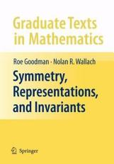 Symmetry  Representations  and Invariants PDF