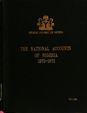 The National Accounts of Nigeria PDF