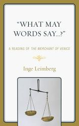 What May Words Say  Book PDF