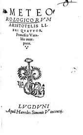 Meteorologicorum libri IV