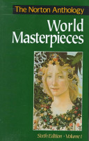 The Norton Anthology Of World Masterpieces Literature Of Western Culture Through The Renaissance Book PDF