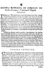 Segunda respuesta critica de Hercules de Ocaña al examen y refutacion de Teophilo Correccionis