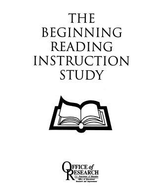 The Beginning Reading Instruction Study PDF