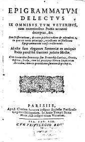 Epigrammatum Delectus