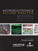Microelectronics Fialure Analysis Desk Reference  Seventh Edition PDF